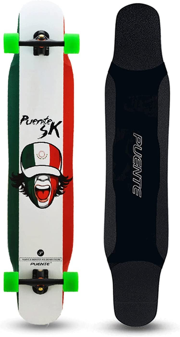 EEGUAI 46inch Excellence Skateboard 8 Outlet sale feature Layer Maple Longboard Complete Comple