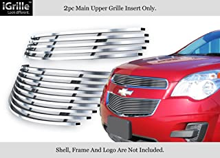 APS Compatible with 2010-2015 Chevy Equinox Stainless Steel Billet Grille Insert C66738C