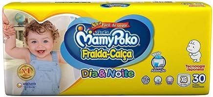 Fralda-Calça MamyPoko DIA&NOITE tamanho XG, pacote contendo 30 unidades