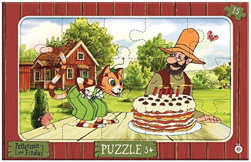 Rahmenpuzzle Pettersson Und Findus 15-Teilig