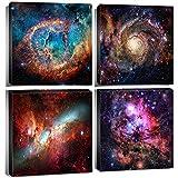 Space Decor Nebula Galaxy Room Wall Art Canvas Painting Prints Astronomy...