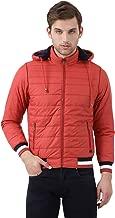 Monte Carlo Orange Solid Polyester Hood Jacket