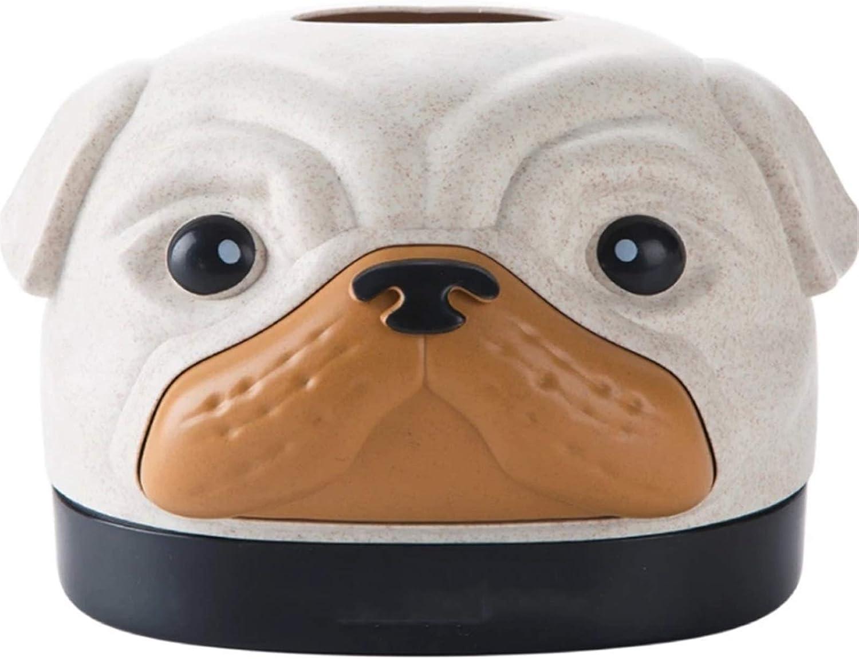 Tissue Box Holders Gift Custom Cute Cartoon New life Mail order cheap Paper Dog Ti Shaped