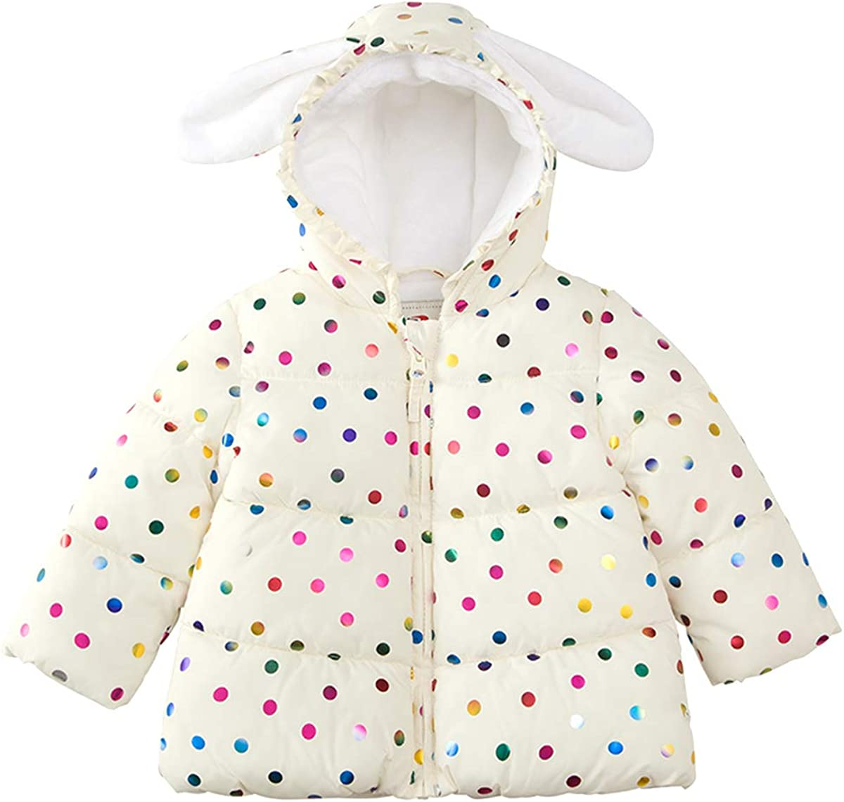 RokkaRolla Baby Girls' OFFicial store Water-Resistant Soft Fur Lined Mini Sale special price Puff