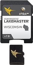 Humminbird LakeMaster Wisconsin Edition Digital GPS Lake Maps, Micro SD Card, Version 7