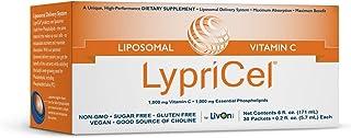 LypriCel Liposomal Vitamin C – 30 Packets – 1,000 mg Vitamin C Per Packet – Liposome Encapsulated for Maximum Bioavailabil...