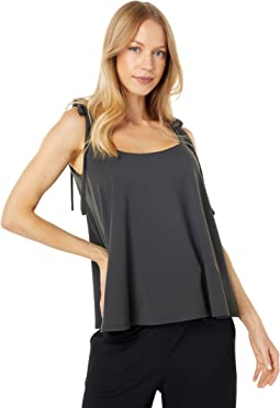String Tie Flare Top