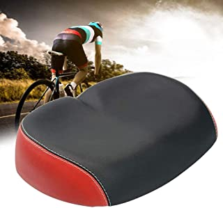 JKOWANS Bicycle Seats for Comfort—Oversized Waterproof Bike Saddle Universal Noseless Wide Bike Seat Soft Pad Cycling Cushion Women & Men for Exercise Indoor and Outdoor