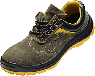 Prettyia Safety Work Boots Steel Toe Cap & Midsole Work Shoes/Breathable/Anti-Skid - US8 EU41 UK7.5