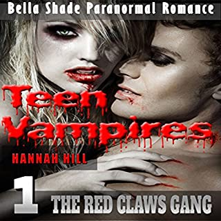 Teen Vampires 1: The Red Claws Gang  audiobook cover art