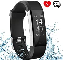 Fitness Tracker Aneken IP 67 Waterproof Smart Bracelet with Heart Rate Monitor Activity Health Tracker Fitness Wristband...
