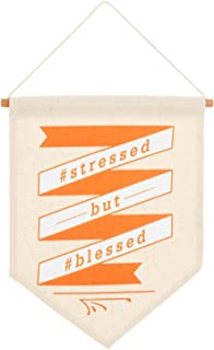 Hallmark Stressed But Blessed Canvas Banner Sign, 7.5x10 Plaques & Signs