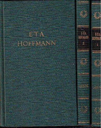 E.T.A. Hoffmanns Werke in drei Bänden (Bibliothek Deutscher Klassiker) Aufbau
