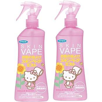【まとめ買い】スキンベープ 虫除けスプレー ミストタイプ 200ml ハローキティ ピーチアプリコットの香り×2個