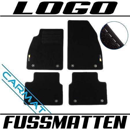 Kh Teile Fußmatten Insignia A Velours Automatten Original Qualität 2 Teilig Vorn Schwarz Auto