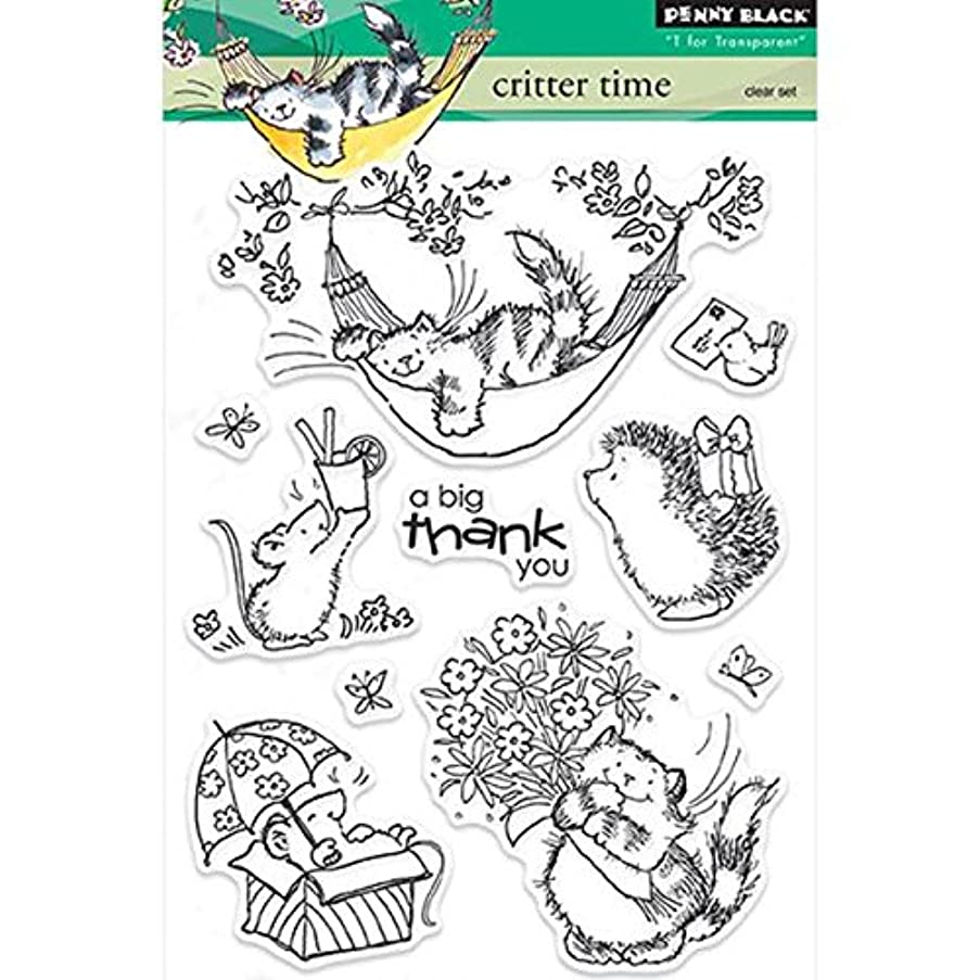 Penny Black 30-234 Critter Time Decorative Stamp