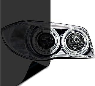 VViViD Air-Tint Dark Black Headlight/Tail Light Window Tint (12 Inch x 24 Inch 2-roll Pack)