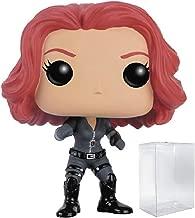 Marvel: Captain America 3 Civil War - Black Widow Funko Pop! Vinyl Figure (Includes Compatible Pop Box Protector Case)