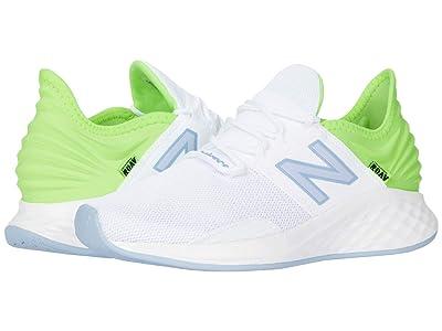 New Balance Fresh Foam Roav (White/Lime Glow/Frost) Women