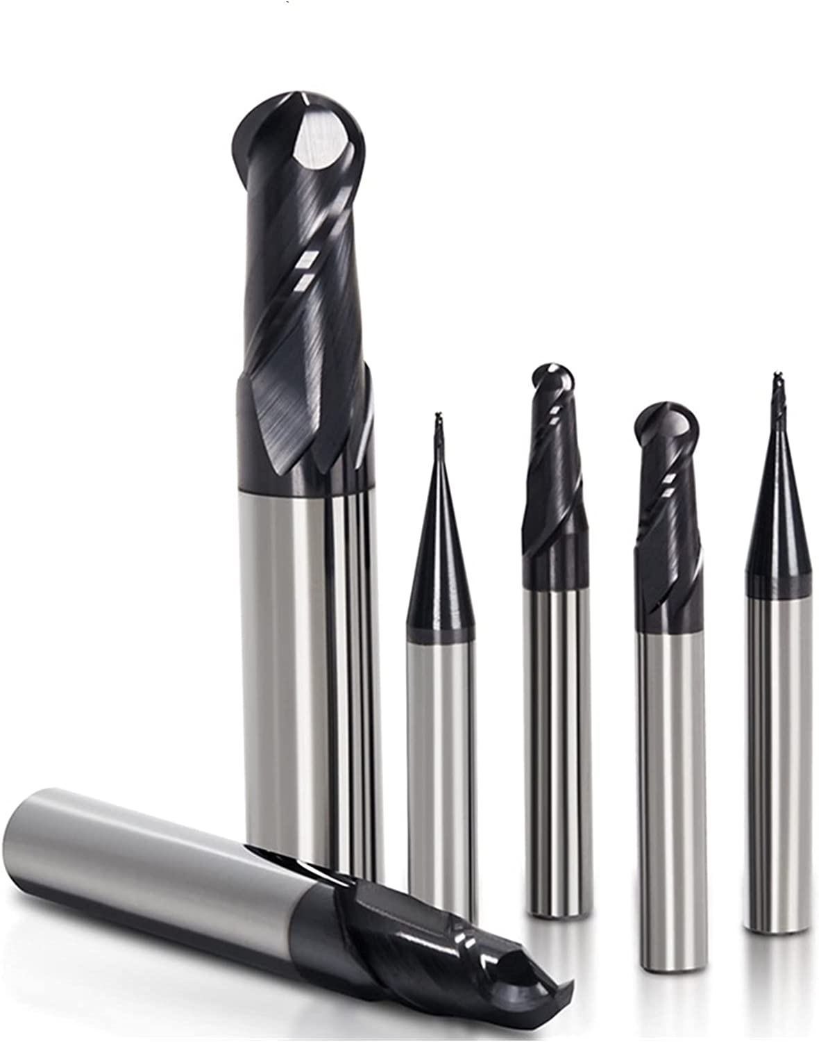 SYHML-SHOP Milling Cutter HRC 50° 2 Nose favorite Ball End Mill Flutes Tu Max 74% OFF