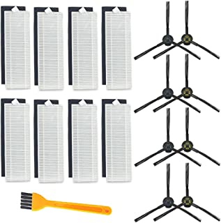Electropan Replacement Kits for ILIFE A7 A9 Robotic Vacuum Cleaner, Side Brushes,Filters (SET1)