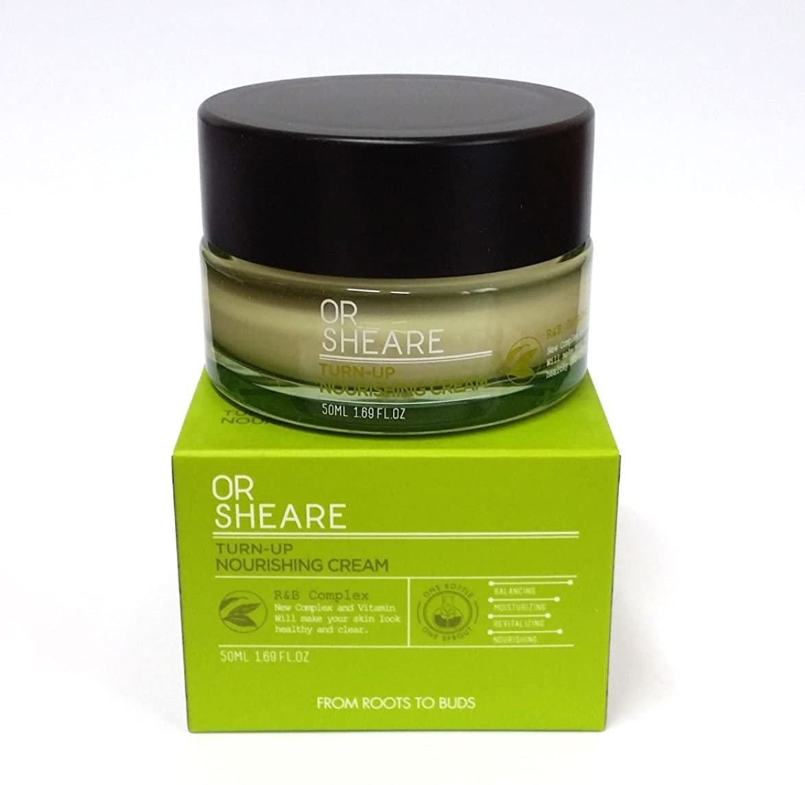 疫病認識書く[BELOVE] ORSHEAREターンアップ栄養クリーム50ml /バランス、保湿、活性化、栄養 / 韓国化粧品 / Korean Cosmetics [並行輸入品]