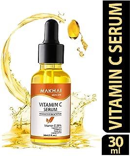 MAKHAI Vitamin C Face Serum with Glutathione | Hyaluronic | Vitamin E | Ferulic acid 30ml