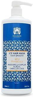 Válquer Profesional Ice Hair Mask. Mascarilla Capilar efecto hielo 0% volumen. Cabellos lisos Sin siliconas, sin sal, sin ...
