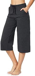 Women's Active Yoga Lounge Capri Pants with Pockets