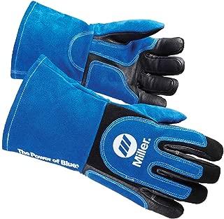 Miller ELECTRIC263339 Welding Gloves, 3D, Wing, 13In, Blueblack, PR