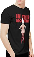 Avis N Men's in This Moment Maria Brink Whore T Shirts Black