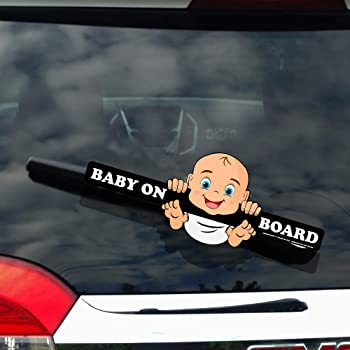 10 x 8.6, White # 1118 Yoonek Graphics Baby Simba on Board Rafiki Lion King Decal Sticker for Car Window Laptop and More