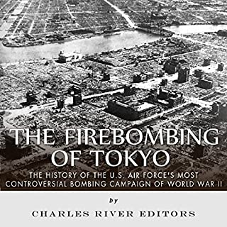 The Firebombing of Tokyo audiobook cover art