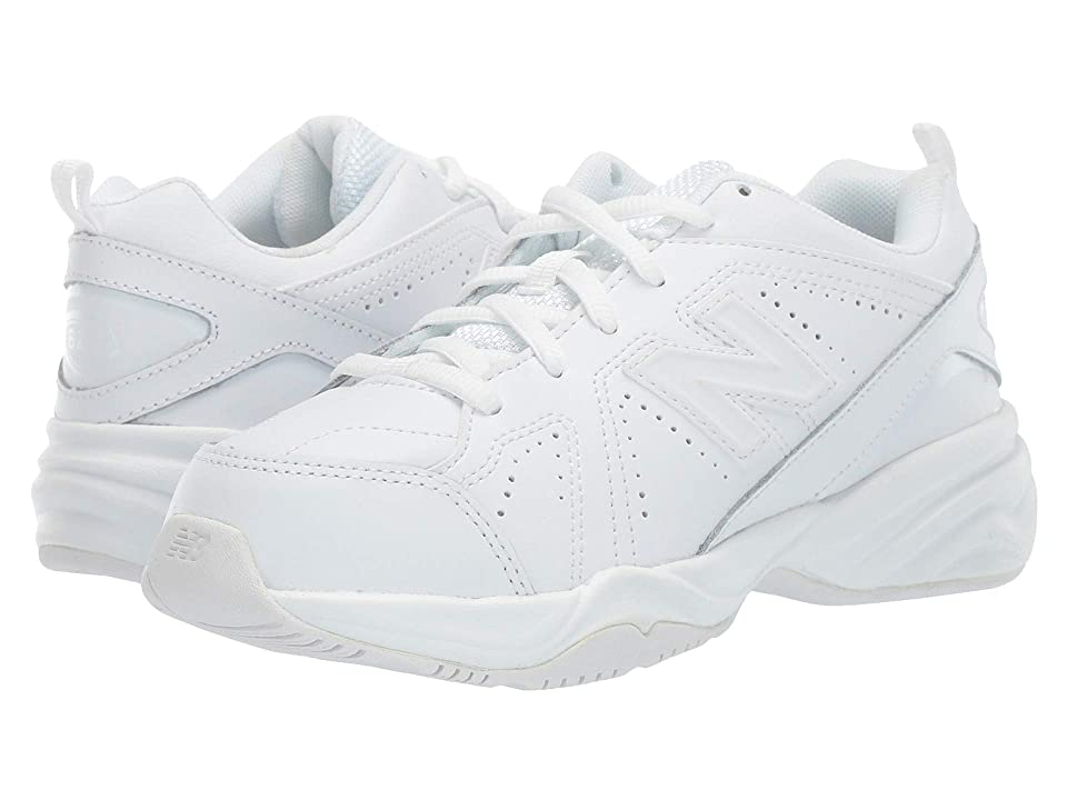 New Balance Kids KX624 (Little Kid/Big Kid) (White) Kids Shoes