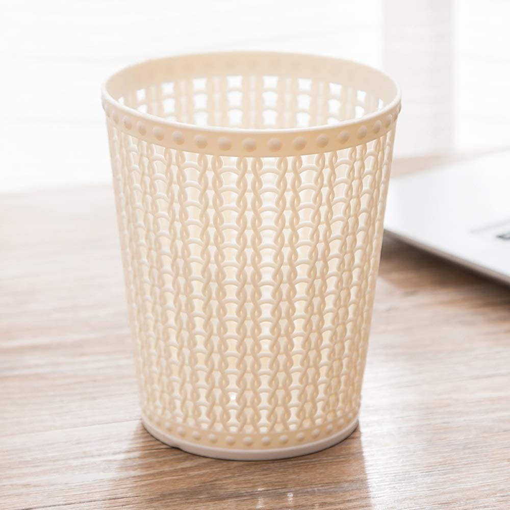Shatter-Resistant Coverless Desktop Trash Award Simple Hollo Style Can quality assurance