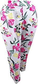 I.N.C. International Concepts Women's Plus Size Printed Cropped Pants