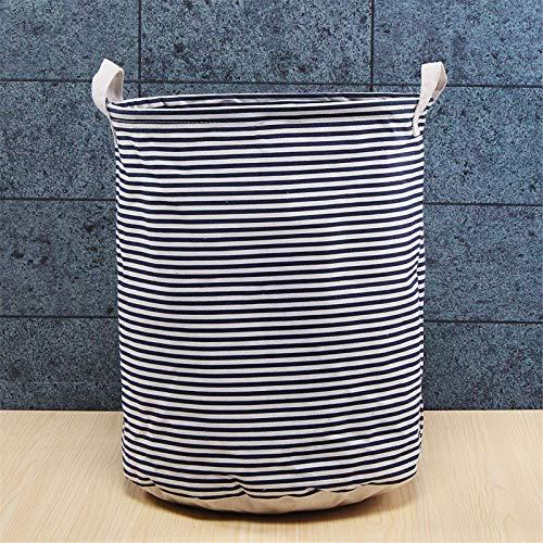 Heqianqian Cesto plegable grande de almacenamiento para la colada, cesta para la colada, cesta de lona, bolsa de lavandería (tamaño: 35 x 45 cm, color: #6)
