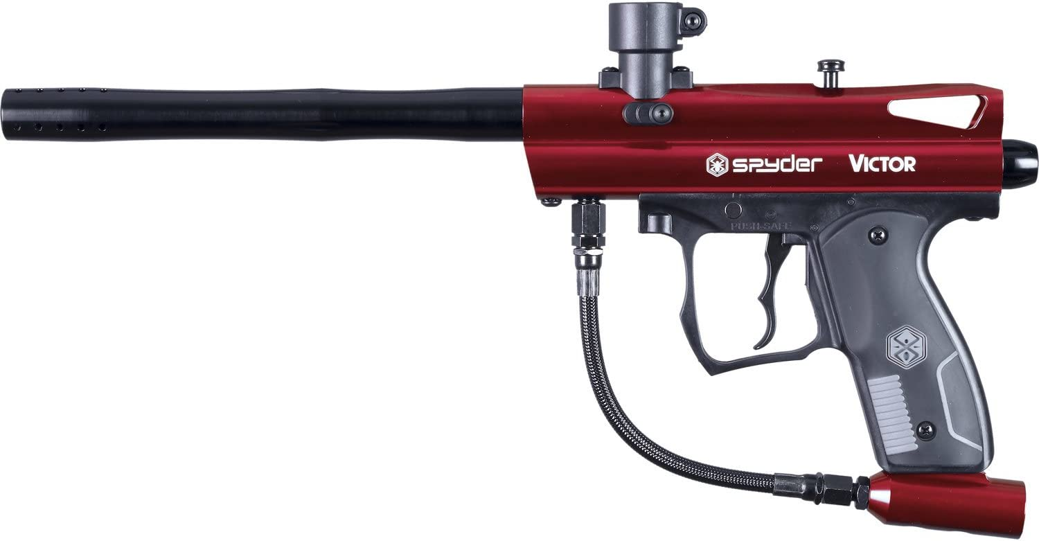 Spyder Victor Paintball Marker - Gloss Red