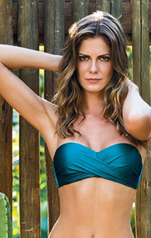 Cia Maritima Women's Bikini Top Green L