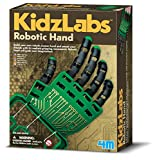 4M Kidzlabs Robotic Hand Kit - DIY Mechanical Robot Science - STEM Toys Educational Gift for Kids & Teens, Girls & Boys, Multi (3774)