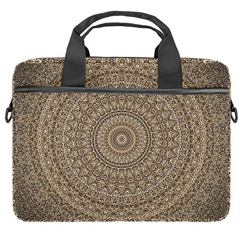 13.4'-14.5' Laptop Case Notebook Cover Business Daily Use or Travel Mandala Rotation
