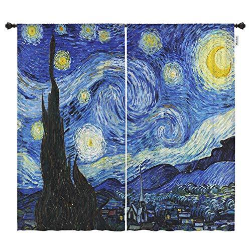 Moslion Living Curtains Vincent Blackout