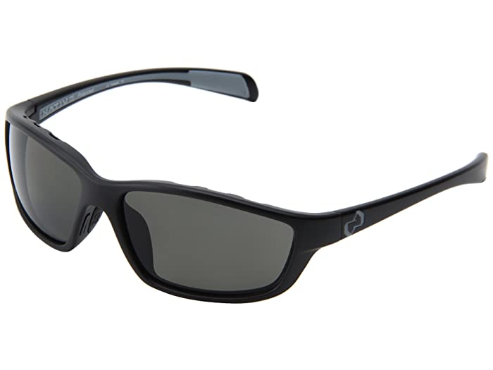 Native Eyewear Kodiak (Asphalt/Iron/Gray Lens) Athletic Performance Sport Sunglasses