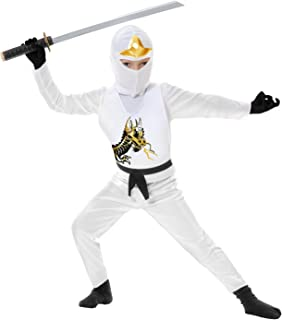 Charades Ninja Avenger Series II Child's Costume, White, X-Small