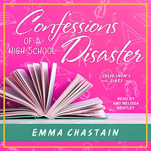 Confessions of a High School Disaster audiobook cover art