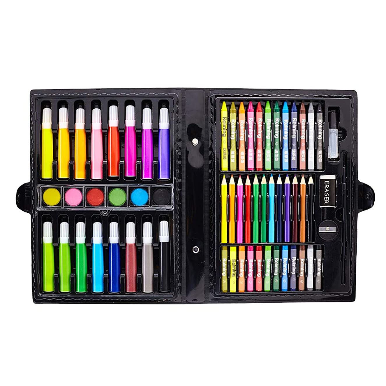 66 Piece Art Set, Artist Sketching Drawing & Painting Set with Case Art Kit for Kids Teens and Adults