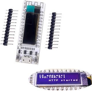 HiLetgo 0.91 Inch ESP8266 OLED Display 0.91 Inch OLED ESP8266 WIFI Development Board WIFI Kit 8 CP2102 IOT Support Arduino IDE NodeMCU LUA