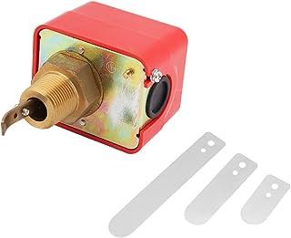 Akozon Controlador de Flujo de Líquido Interruptor SPDT R3/4 Control de Sensor de Aceite