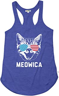 Women's Funny Patriotic USA Tank Tops - American Flag Tanks and Shirts
