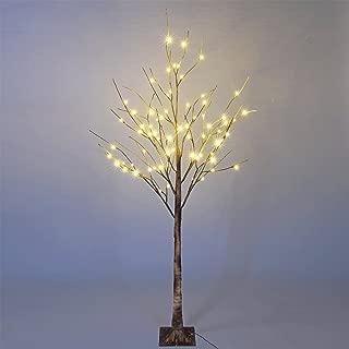 Lightshare Wild Birch Tree 6FT 72 LED Natural